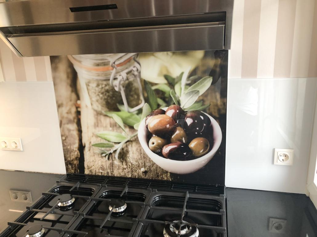 Küchenrückwand Olive